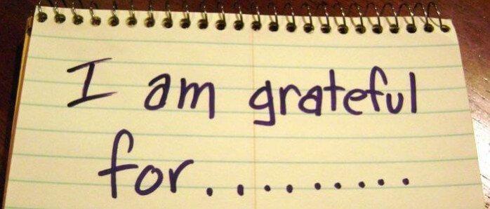 gratitudine allontana lo stress
