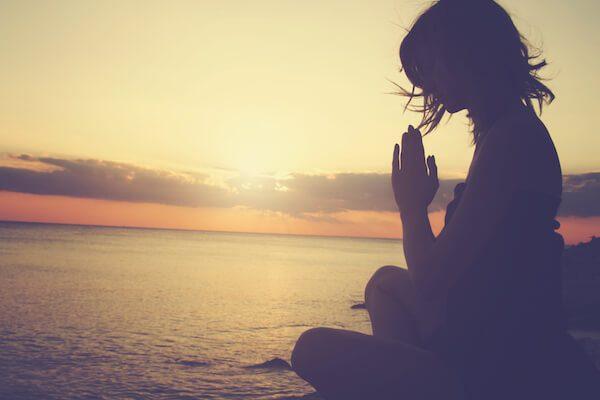 solitudine in meditazione
